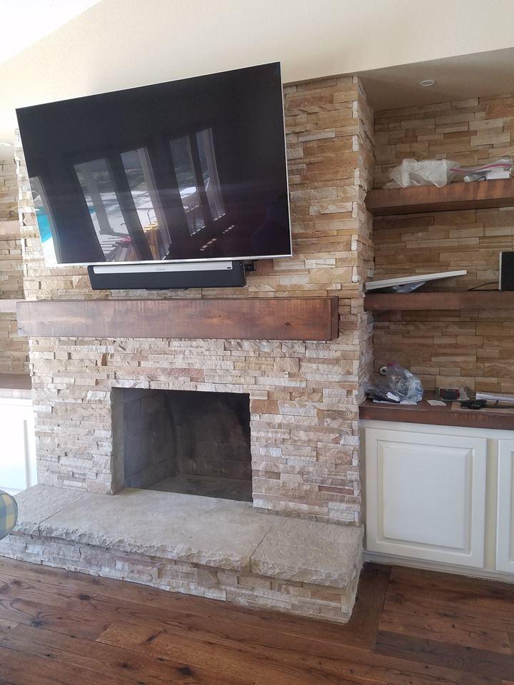 Custom Oak Floor Install