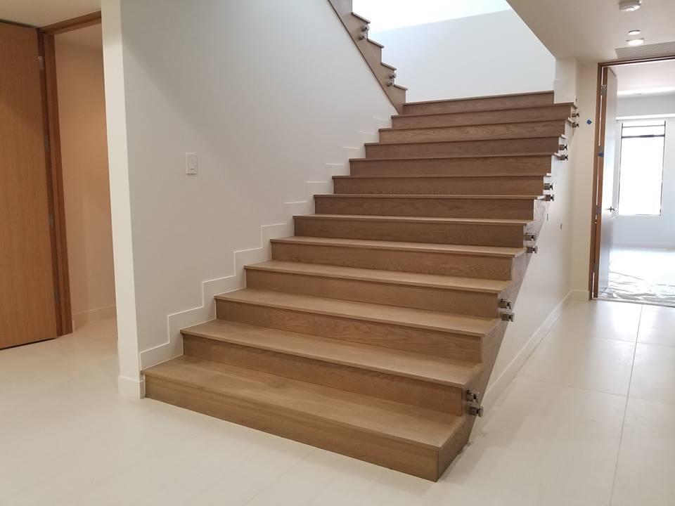Custom White Oak Hardwood Flooring