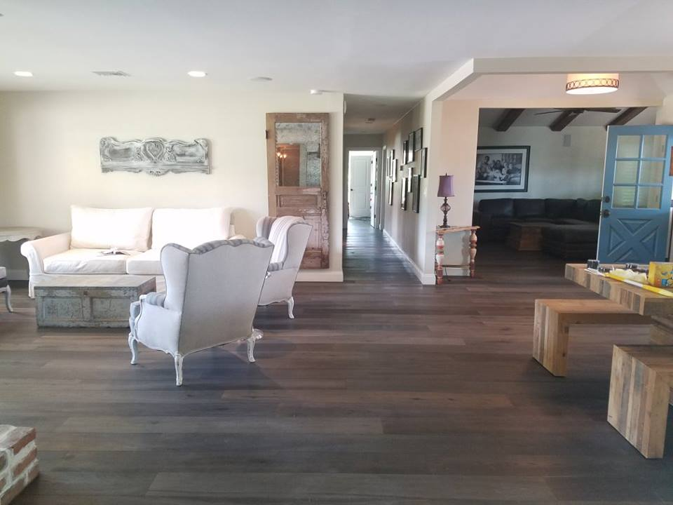 European white oak, medium brown, Engineered Hardwood Floor