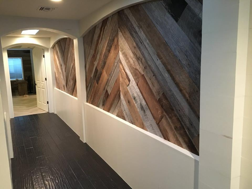 Reclaimed Wood Custom Install