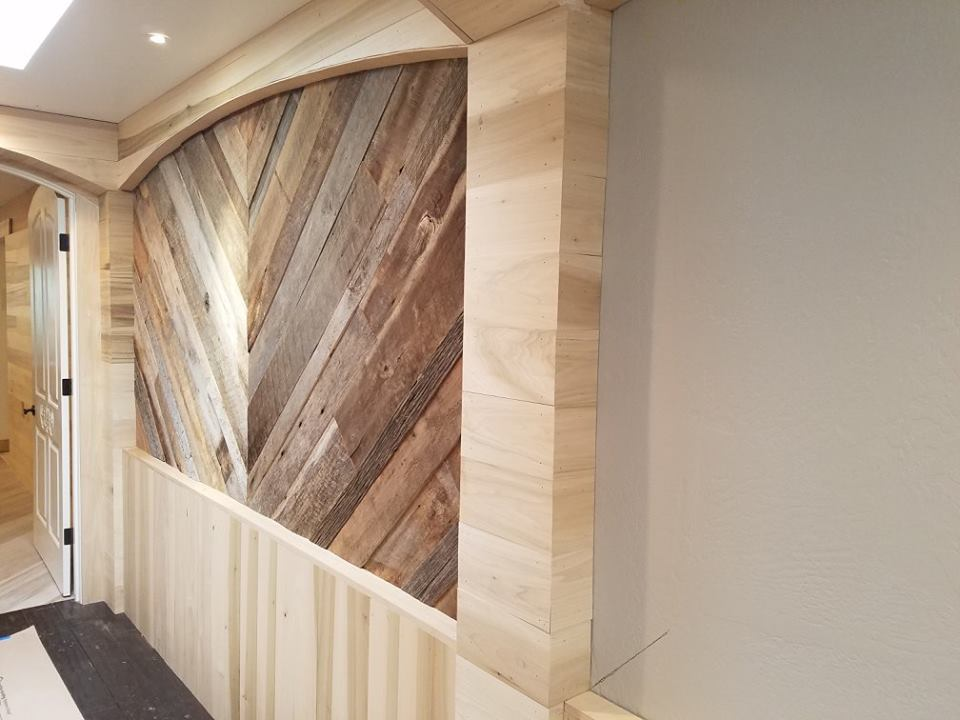 Reclaimed Wood Hardwood Walls