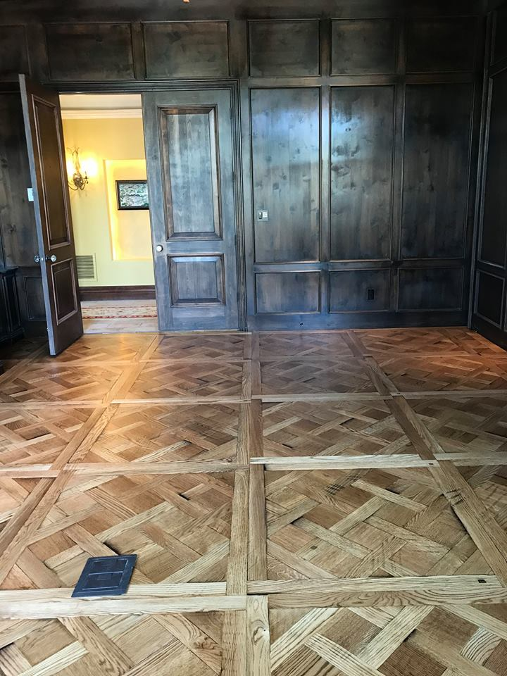 Versailles Parquet Custom Crafted By Mission Hardwood